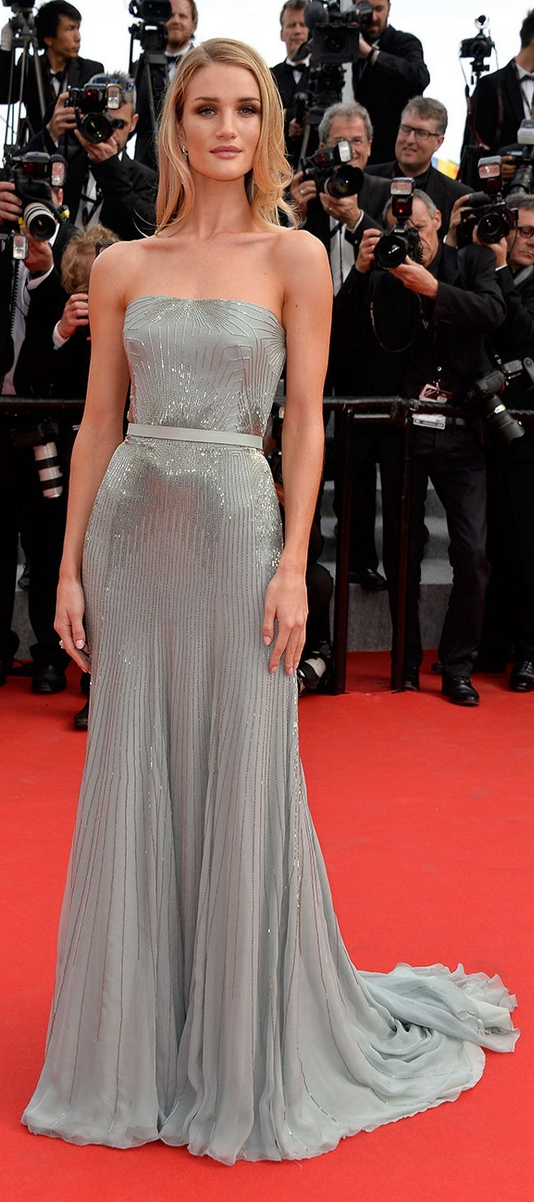cannes-film-festival-2014-rosie-huntington-whiteley-gucci-premier-silver-gown