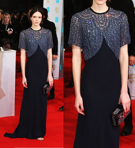 stacy-martin-bafta-best-dressed