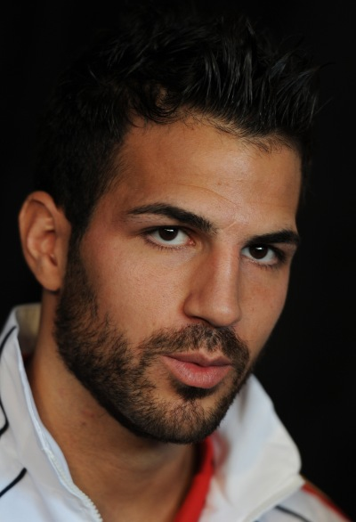 POTCHEFSTROOM, SOUTH AFRICA - JUNE 13: Cesc Fabregas of Spain looks on after a press conference on June 13, 2010 in Potchefstroom, South Africa. (Photo by Jasper Juinen/Getty Images)