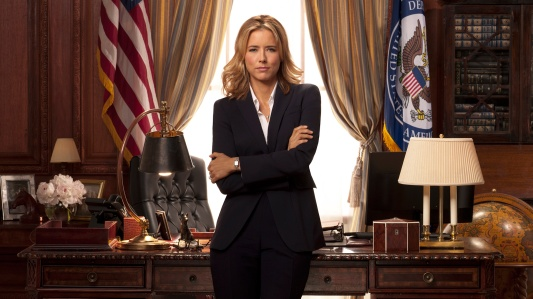 "Téa Leoni stras as Elizabeth McCord in the new CBS drama ""Madam Secretary,"" premiering Sunday, September 21 at 8:00 PM ET/PT."