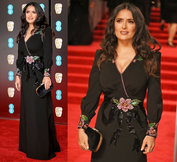 BAFTA-2018-BAFTAs-Salma-Hayek-red-carpet-1238066